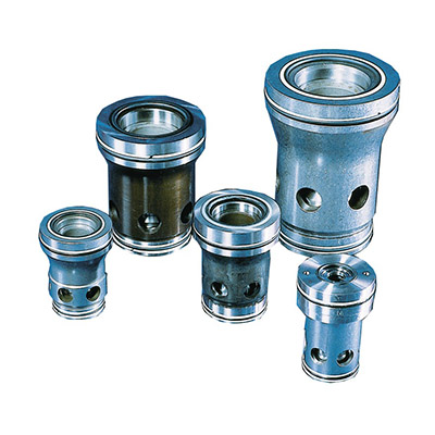 Slip-in cartridge valves 2-way