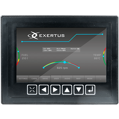 MID070S Display component from Exertus
