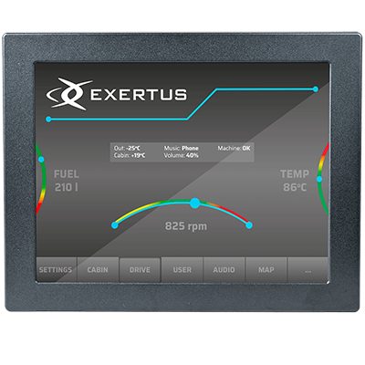 RD121S2 Display component from Exertus